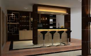 Mini Bar Smaller Kitchen Home Design With Bar Desk