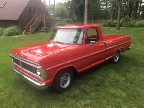 1970 ford f100 2wd regular cab for sale near summerville south carolina 29483 classics on 1970 ford f100 pick up short bed fleetside 2wd 302v8 3spd column stick shift classic ford f