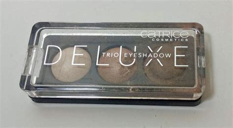 Catrice Deluxe Trio Eyeshadow 1 test eyeshadow catrice deluxe trio eyeshadow farbe 010 antique c est tr 232 s chic