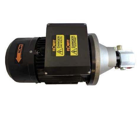 hi lo motors hydraulic electric motor set 3 7kw 240v single phase
