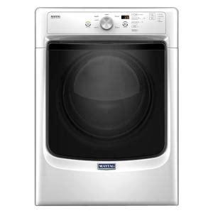 maytag 7 4 cu ft gas dryer in white mgd3500fw the home