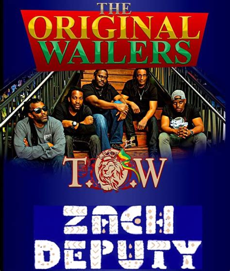 Culture Room Events by The Original Wailers And Zach Deputy Culture Room Fort