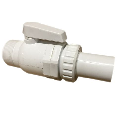 Vacuum Fitting Wall Fitting 1 5in Hitam 1 5 inch valve with connect slip adaptor pool supplies canada