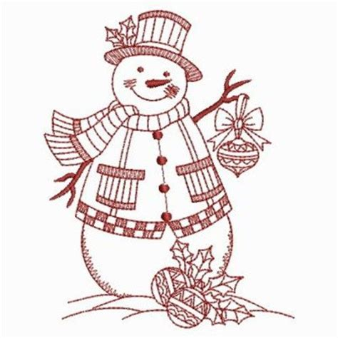 black embroidery pattern free snowman redwork patterns welcome my account