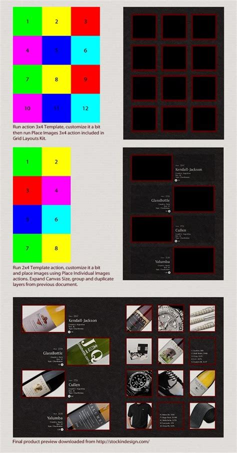 photoshop layout actions grid layouts photoshop actions by bojansavke graphicriver