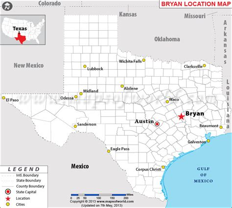 where is bryan texas on the map where is bryan texas