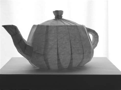 Origami Teapot - teapot