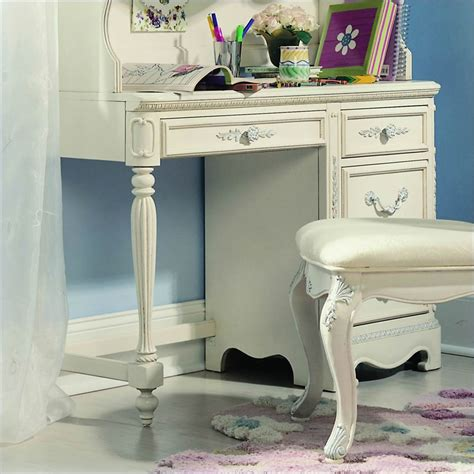 white student desk with drawers lea jessica mcclintock romance 4 drawer wood student desk