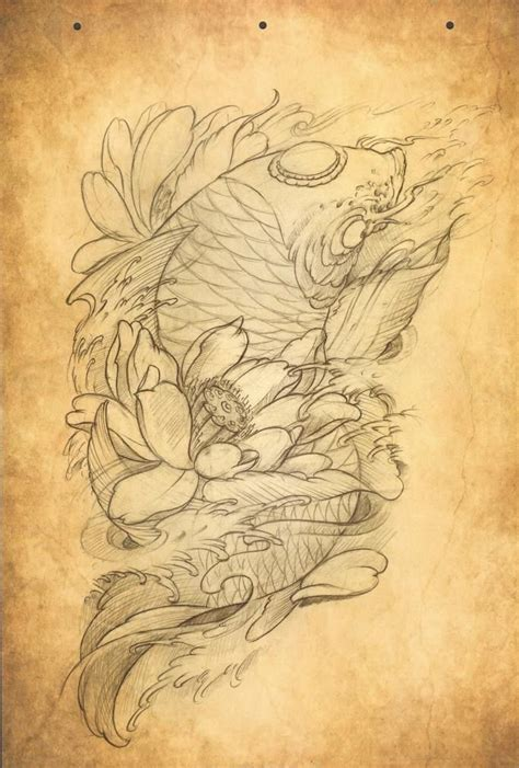 chinese fish tattoo 32 best c 225 ch 233 p images on fish tattoos japan