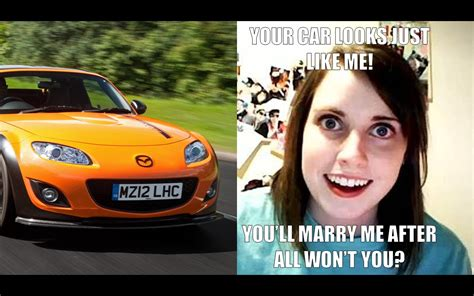 Car Girl Meme - weknowmemes com wp content uploads 2012 06 overly attached