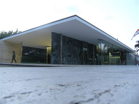 Pavillon Mies Der Rohe by Panoramio Photo Of Deutscher Pavillon Mies Der Rohe