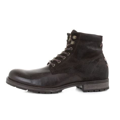 mens and jones west combo java brown leather