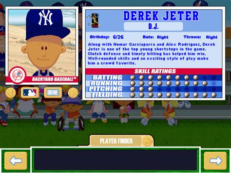 Backyard Baseball Stats Viva La Vita Backyard Baseball 2001 Draft Complete Draft