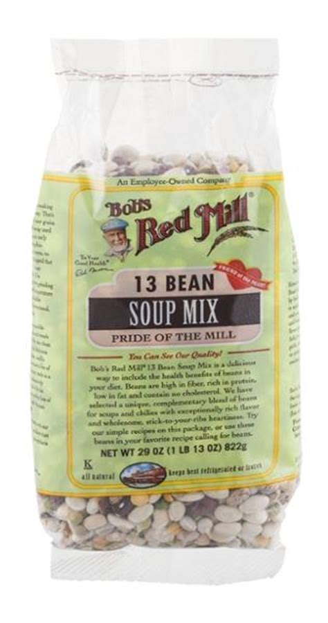 Bob S Mill 13 Beans Soup Mix 822gr bob s mill 13 bean soup mix hy vee aisles grocery shopping