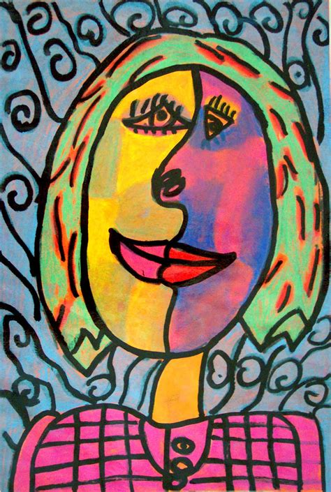 picasso paintings ks1 a knows mess pablo picasso self portraits lesson