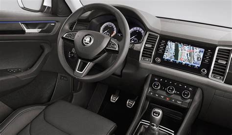 skoda kodiaq interior skoda kodiaq interior options