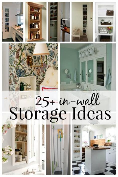 room storage ideas for small room remodelaholic 25 brilliant in wall storage ideas for every room in your home