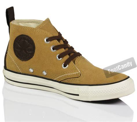 converse chuck all suede leather berkshire mid