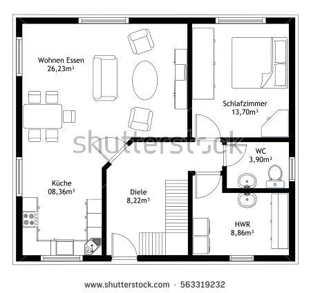 technical drawing floor plan technical drawing stock images royalty free images