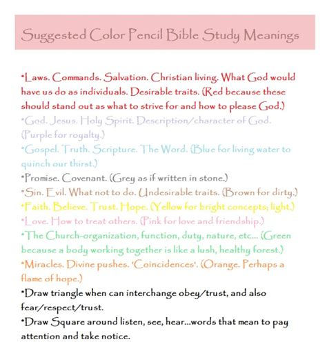 biblical color meanings hewn a great site