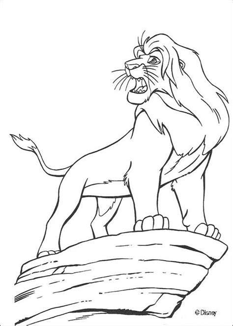 The Lion King Coloring Pages Mufasa The Lion King Mufasa Coloring Pages