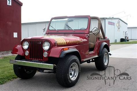 1980 Jeep Wrangler Sale 1980 Jeep Wrangler For Sale Carsforsale