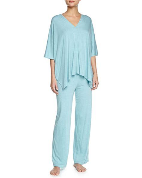 J 7381 Tunic Set natori shangri la two tunic pajama set freshwater s