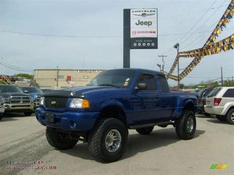 ford ranger 4x4 2003 ford ranger edge supercab 4x4 in sonic blue metallic