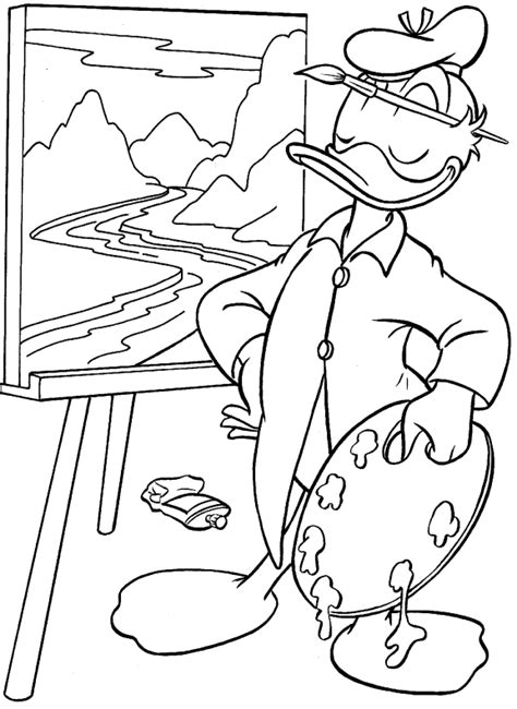 disney coloring pages donald duck disney coloring pages donald duck and daisy duck coloring