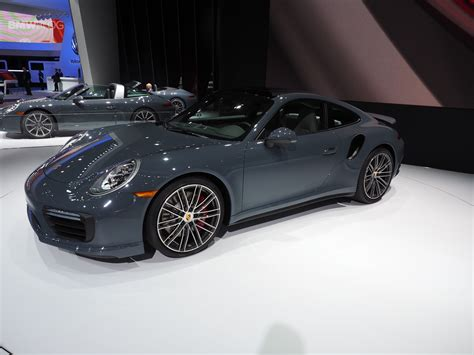 new porsche 911 turbo porsche unveils new porsche 911 and 911 turbo at 2016