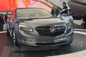 Buick Luxury Sedan Gm S Buick Avenir Concept Luxury Sedan Borrows Its Name