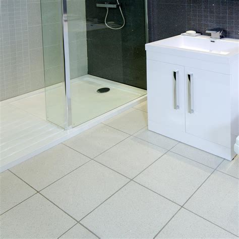 White Tile Bathroom Floor by White Bathroom Floor Tiles Home Designs