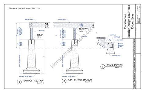 blueprint plans free 12 x 16 deck plan blueprint with pdf document