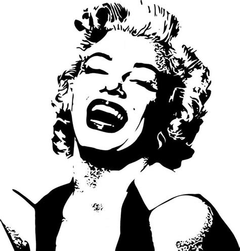 stencil pattern artists 32 best images about famous people stencils on pinterest