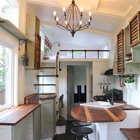 tiny house with loft tiny farmhouse with loft bedroom popsugar home