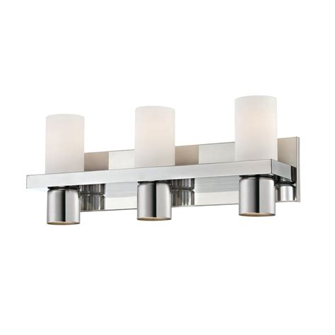 Chrome Bathroom Vanity Light Shop Eurofase 6 Light Pillar Chrome Bathroom Vanity Light At Lowes