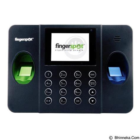 Mesin Absensi Sidik Jari Fingerspot jual fingerspot mesin absensi sidik jari revo duo 158bnc