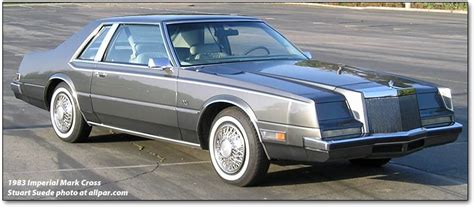 81 Chrysler Imperial by Imperial Cars By Chrysler 1981 To 1983