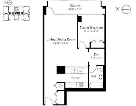 100 E 14th St Floor Plan by 1400 Museum Park 100 E 14th St