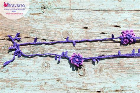 fiori uncinetto giuliano marelli collana all uncinetto con idee a crochet crochet necklace