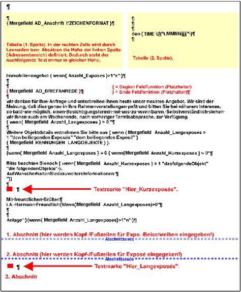 Word Vorlage Immobilien Expose Offertenerstellung