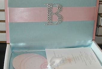 boxed baby shower invitation for paperblog