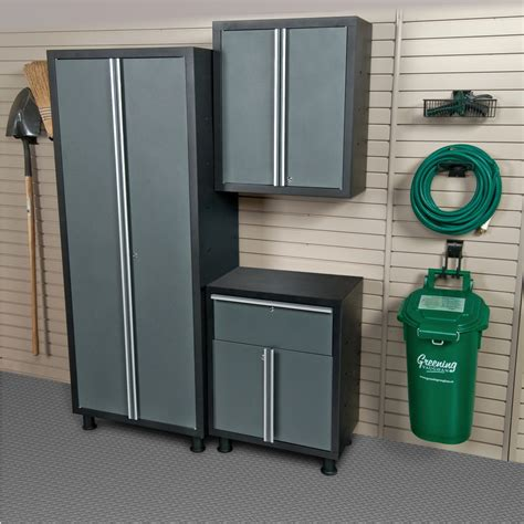 Metal Cabinets For Garage Storage by Shop Blue Hawk 72 In H X 56 In W X 16 In D Metal Garage