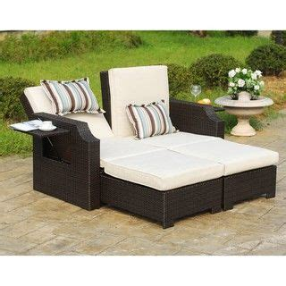convertible outdoor sofa chaise lounge wicker and polyester convertible outdoor sofa chaise
