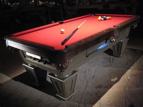 j s resources building a pool table