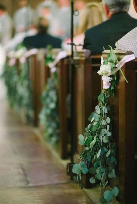 Wedding Aisle With Leaves by 35 Stunning Eucalyptus Wedding Decor Ideas Happywedd