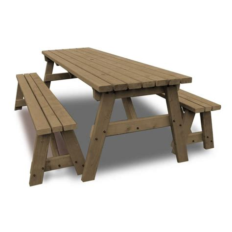 table and bench set 4ft garden table and bench set