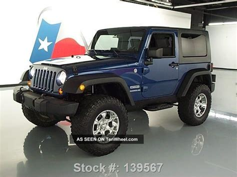2010 Jeep Wrangler Top 2010 Jeep Wrangler Sport Top 4x4 Lifted 6 Spd 31k