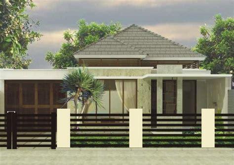 fasad rumah minimalis  lantai modern fasad rumah