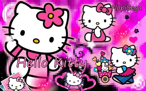 hello kitty wallpaper online pink hello kitty backgrounds wallpaper cave